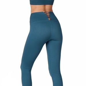 FABLETICS High Waisted Seamless Ribbed Leggings M